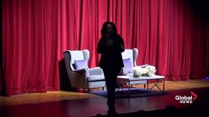 Oprah says she's 'never missed a chance to vote' at town hall for Stacey Abrams