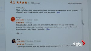 Calgary consumer and market expert warn about fake online reviews