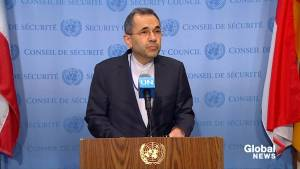 Iranian ambassador to UN says U.S. 'has no respect' for international law