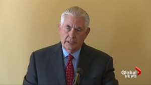 Tillerson says U.S. can have dialogue on Korea standoff when conditions are right