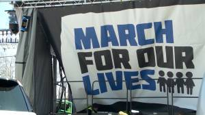 Students, activists ready to march in Washington in 'March for Our Lives' demonstration against gun violence (01:15)
