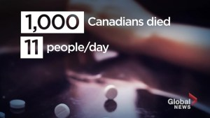 A look at how opioid overdoses have risen in Canada