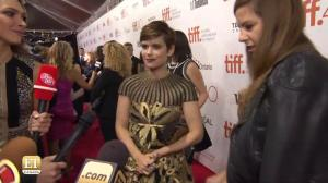 TIFF Red Carpet – The Martian: Kate Mara