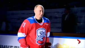 Move over Alex Ovechkin, Russia president Vladimir Putin pots 8 goals in game