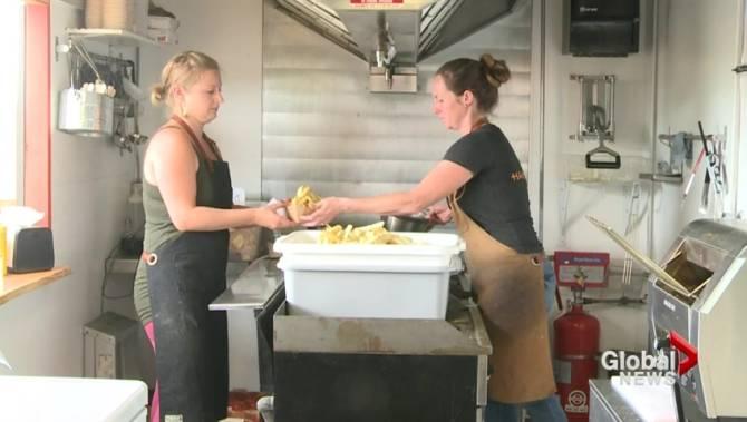 Harvest Road Food Truck Saanich