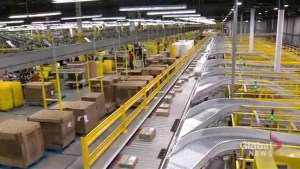 Inside Amazon Canada's only robotic fulfillment centre on Cyber Monday