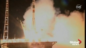 American astronauts on their way to ISS as Russian Soyuz rocket blasts off