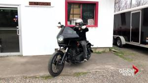 Injured New Brunswick biker speaks out about motorcycle safety