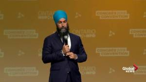 Singh says the will declare health emergency over opioid crisis if elected