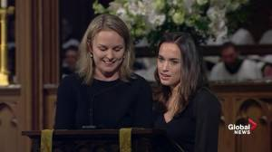 Bush funeral: Granddaughters remember former president's 'faith, love'