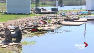 Damage becoming clear as New Brunswick flood waters recede
