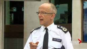 Eight police fired 50 bullets to stop London attackers: counter terrorism police chief