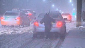 Police warn about winter storm driving conditions