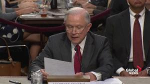 Sessions explains circumstances around his recusal on Russia investiga
