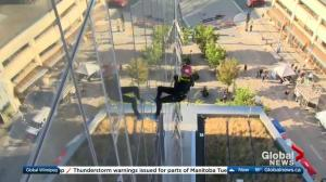 Easter Seals Drop Zone preview on Global News Morning