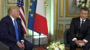 D-Day 75: Macron thanks Trump, U.S. on behalf of France