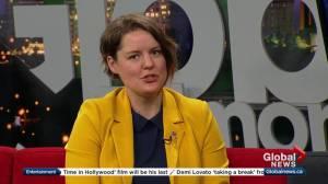 NDP MLA Heather Sweet talks about marathon Bill 8 debate