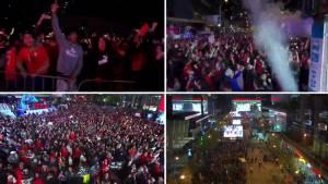 NBA Finals: The moment Raptors win NBA title captured across Toronto