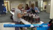 Play video: Temporary food depot opens in Pointe-Claire Plaza
