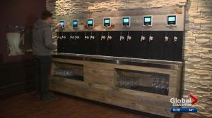 Our YEG at Night: Self-serve beer wall features Alberta brew