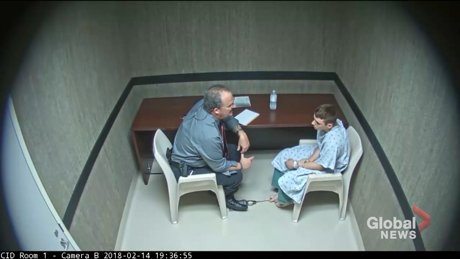 Newly Released Video Shows Interrogation of Parkland Shooter