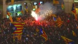 Spain sacks Catalan government after independence vote