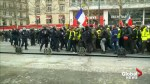 'Yellow vest' protests in France rage on for a 13th consecutive weekend