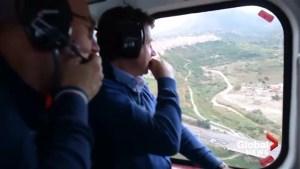 Italy's prime minister tours devastating flooding in Sicily
