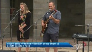 Song honouring memory of fallen Fredericton officers to be used to support community