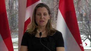 Canada sees Brexit as 'divorce among 2 very, very good friends': Freeland