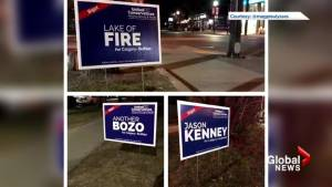 Fake UCP signs add to Alberta election divisiveness (01:44)