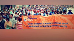A preview of the 2nd Annual Kingston Community Walk to end global poverty