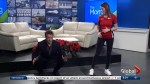 The Morning Show's Bill Welychka learns easy exercises to help combat the holiday season's overeating