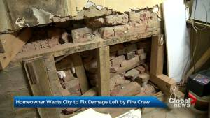 Elderly Toronto man wants City to pay for costly damages to his home