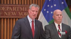 'Be vigilant': N.Y.C. Mayor de Blasio says after bomb explosion injured 29 people