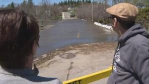 Flood waters in Saint John receding slightly