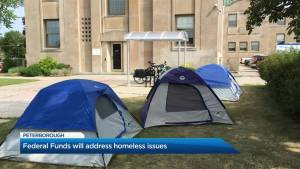 Federal funding supporting Brock Mission homeless shelter in Peterborough