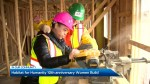 Habitat for Humanity's 10th anniversary Women Build
