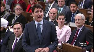 Trudeau blames previous government for lack of energy projects