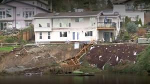 Landslide leaves Esquimalt residents on edge
