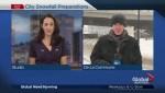 First major snowfall of the season hits Montreal