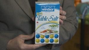 Nutrition: Sodium consumption