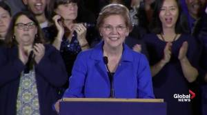 Midterm Elections: Elizabeth Warren gives victory speech after re-election to senate