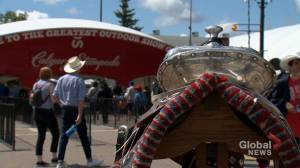 Calgary Stampede restores historic 'president's saddle' to former glory
