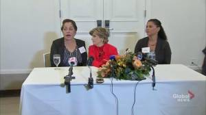 'Don't be afraid': Cosby accusers say women should report assault