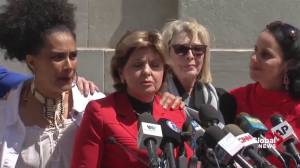 'Justice has been done': Gloria Allred celebrates Cosby guilty verdict