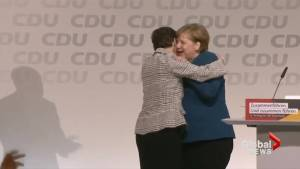Angela Merkel's successor is named