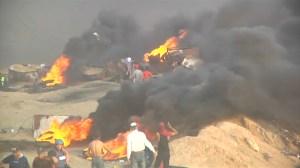 Israeli forces wound 130 Palestinians at Gaza border