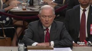 Sessions maintains he doesn't remember Russian ambassador at Mayflower