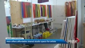 Providing affordable, shared space for artists in Toronto